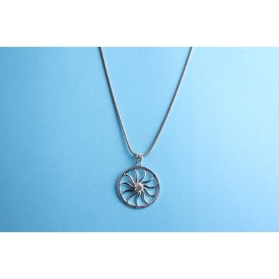Angel circle of Life Raphaël sieraad, let op de kleur van de kristal is paars